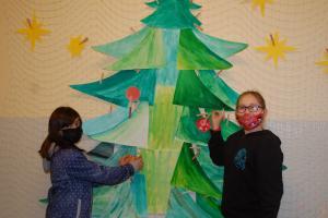 Ve škole se připravujeme na Vánoce